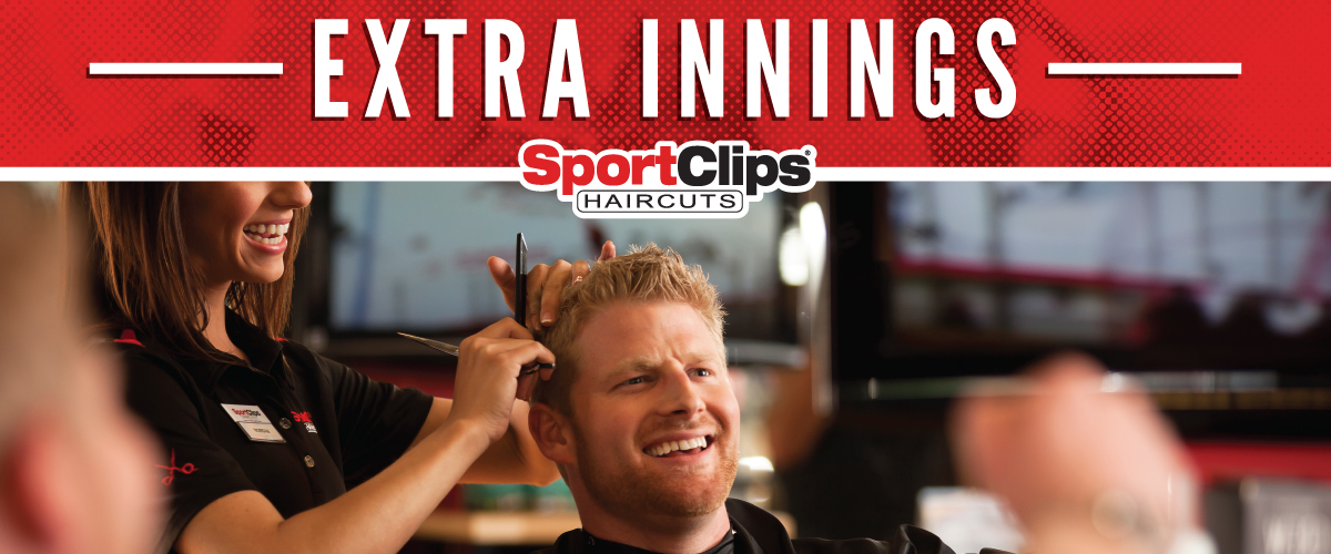 The Sport Clips Haircuts of Tomball Crossing  Extra Innings Offerings